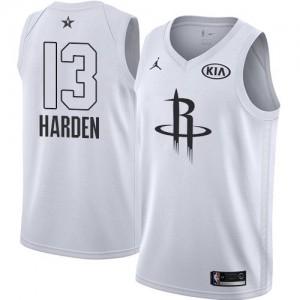 Houston Rockets Jordan 2018 All-Star Game Blanco Swingman Camiseta de la NBA - James Harden #13 - Niño