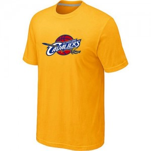 T-Shirt Primary Logo Hombre NBA Cleveland Cavaliers Big & Tall Amarillo