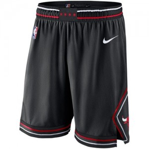 Pantalones Hombre Statement Swingman Chicago Bulls Negro
