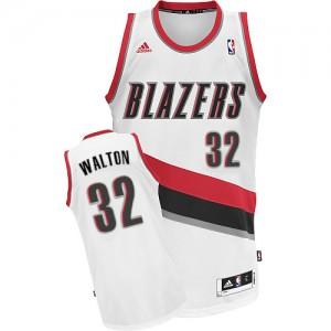 Camisetas Baloncesto Hombre NBA Portland Trail Blazers Home Swingman Bill Walton #32 Blanco