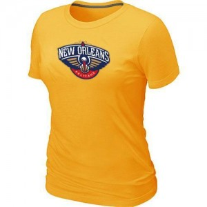 T-Shirt Primary Logo Mujer NBA New Orleans Pelicans Big & Tall Amarillo