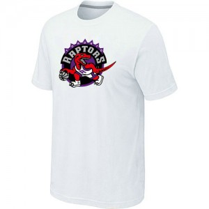 Hombre T-Shirts Toronto Raptors Big & Tall Blanco