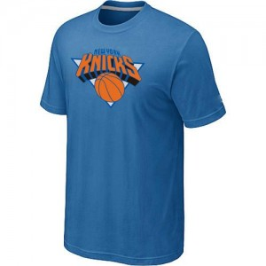 T-Shirts New York Knicks Big & Tall Azul claro - Hombre