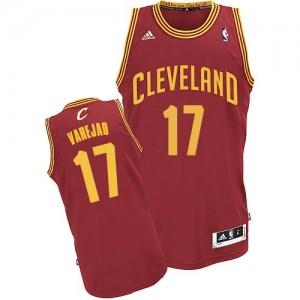 Camisetas Baloncesto Hombre NBA Cleveland Cavaliers Road Swingman Anderson Varejao #17 Vino Rojo