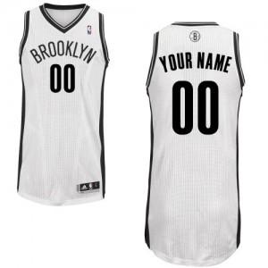 Camiseta NBA Home Brooklyn Nets Blanco - Adolescentes - Personalizadas Authentic