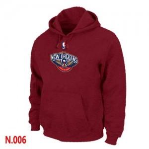 New Orleans Pelicans Rojo Sudadera de la NBA - Hombre