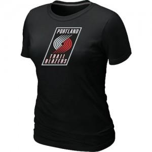 T-Shirts NBA Portland Trail Blazers Big & Tall Negro - Mujer