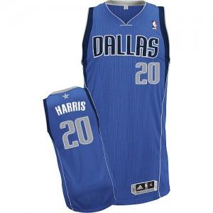 Dallas Mavericks Adidas Road Azul real Authentic Camiseta de la NBA - Devin Harris #20 - Hombre