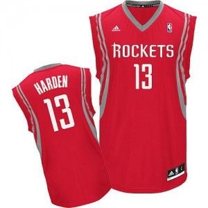 Houston Rockets Adidas Road Rojo Swingman Camiseta de la NBA - James Harden #13 - Hombre