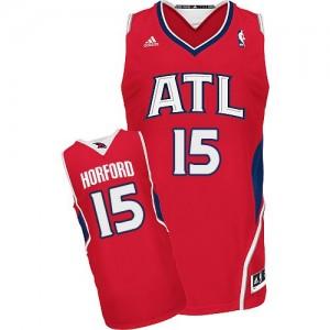Camiseta NBA Alternate Atlanta Hawks Rojo Swingman - Hombre - #15 Al Horford