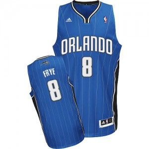 Orlando Magic Adidas Road Azul real Swingman Camiseta de la NBA - Channing Frye #8 - Hombre