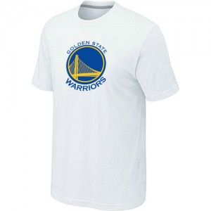 T-Shirts Golden State Warriors Big & Tall Blanco - Hombre