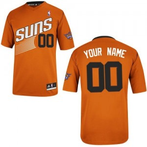 Camiseta NBA Phoenix Suns Authentic Personalizadas Alternate Adidas naranja - Adolescentes