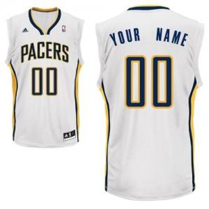 Camiseta NBA Home Indiana Pacers Blanco - Hombre - Personalizadas Swingman