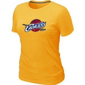 T-Shirt Primary Logo Mujer NBA Cleveland Cavaliers Big & Tall Amarillo