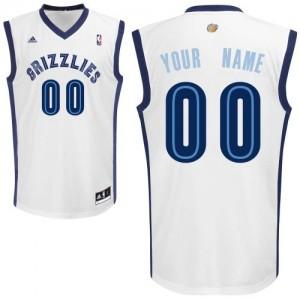 Camisetas Baloncesto Hombre NBA Memphis Grizzlies Home Swingman Personalizadas Blanco