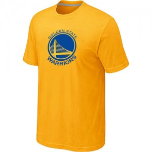 T-Shirts Golden State Warriors Big & Tall Amarillo - Hombre