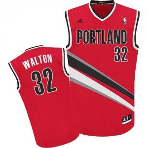 Camisetas Baloncesto Hombre NBA Portland Trail Blazers Alternate Swingman Bill Walton #32 Rojo