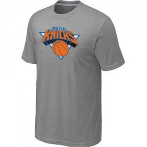 T-Shirts New York Knicks Big & Tall Gris - Hombre