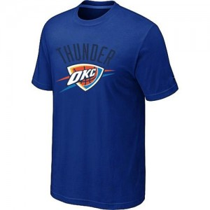 T-Shirts NBA Oklahoma City Thunder Big & Tall Azul - Hombre