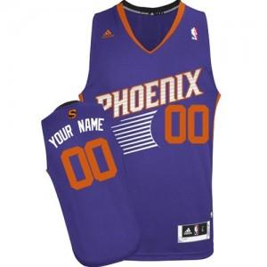 Camiseta NBA Phoenix Suns Swingman Personalizadas Road Adidas Púrpura - Mujer