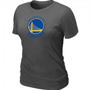 T-Shirts Golden State Warriors Big & Tall Gris oscuro - Mujer