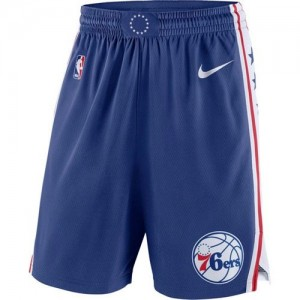 Pantalones Icon Swingman Philadelphia 76ers Azul - Hombre