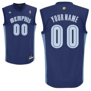 Camisetas Baloncesto Adolescentes NBA Memphis Grizzlies Road Swingman Personalizadas Azul marino