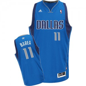 Camiseta Swingman Jose Barea #11 Dallas Mavericks Road Azul real - Hombre