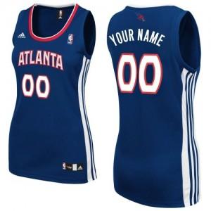 Camiseta NBA Swingman Personalizadas Road Azul marino - Atlanta Hawks - Mujer
