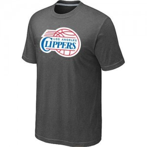 T-Shirts NBA Big & Tall Gris oscuro - Los Angeles Clippers - Hombre