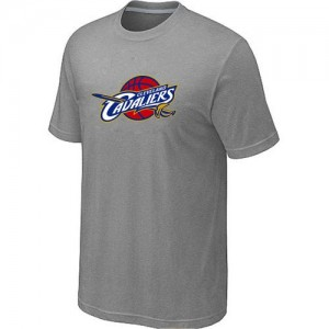 T-Shirt Primary Logo Hombre NBA Cleveland Cavaliers Big & Tall Gris
