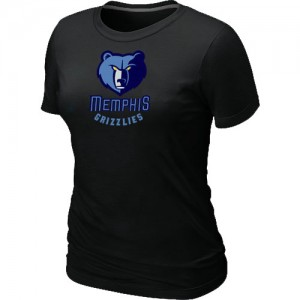 T-Shirts NBA Big & Tall Negro - Memphis Grizzlies - Mujer
