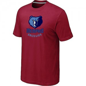 T-Shirts NBA Big & Tall Rojo - Memphis Grizzlies - Hombre