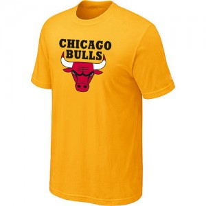 T-Shirt Hombre NBA Chicago Bulls Big & Tall Amarillo