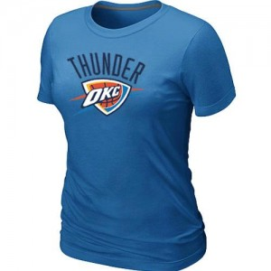 T-Shirts NBA Oklahoma City Thunder Big & Tall Azul claro - Mujer