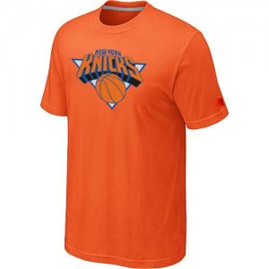 T-Shirts New York Knicks Big & Tall naranja - Hombre