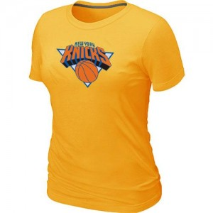 T-Shirts NBA New York Knicks Big & Tall Amarillo - Mujer