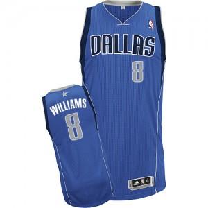 Dallas Mavericks Adidas Road Azul real Authentic Camiseta de la NBA - Deron Williams #8 - Mujer