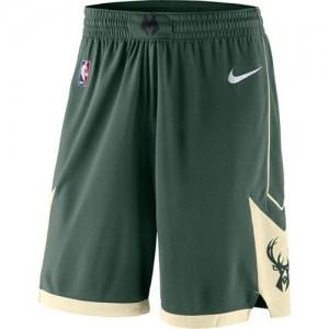 Pantalones Icon Swingman Verde - Milwaukee Bucks - Hombre