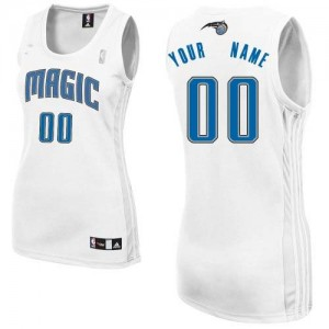 Camiseta NBA Authentic Personalizadas Home Blanco - Orlando Magic - Mujer