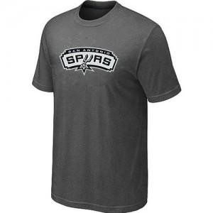 T-Shirts NBA San Antonio Spurs Big & Tall Gris oscuro - Hombre