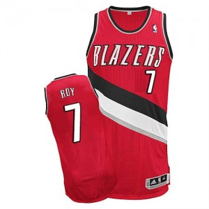 Camisetas Baloncesto Hombre NBA Portland Trail Blazers Alternate Authentic Brandon Roy #7 Rojo