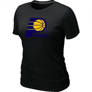 T-Shirts Indiana Pacers Big & Tall Negro - Mujer