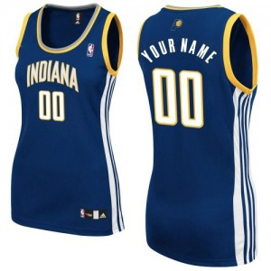 Camiseta NBA Road Indiana Pacers Azul marino - Mujer - Personalizadas Authentic