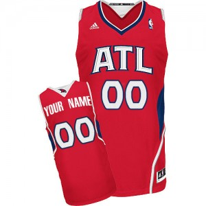 Camiseta NBA Swingman Personalizadas Alternate Rojo - Atlanta Hawks - Mujer