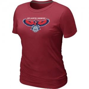 T-Shirts NBA Big & Tall Atlanta Hawks Rojo - Mujer