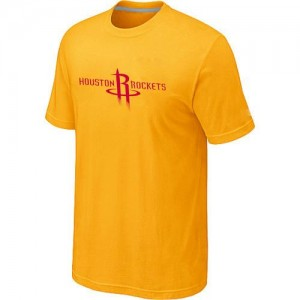 T-Shirts Houston Rockets Big & Tall Amarillo - Hombre