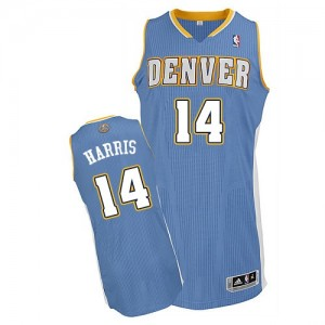 Camiseta NBA Authentic Gary Harris #14 Road Azul claro - Denver Nuggets - Hombre