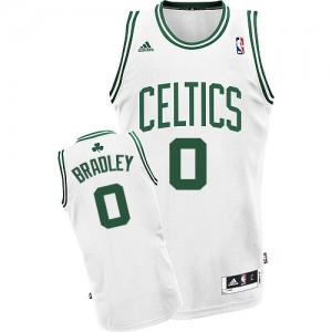 Camiseta Swingman Avery Bradley #0 Boston Celtics Home Blanco - Hombre